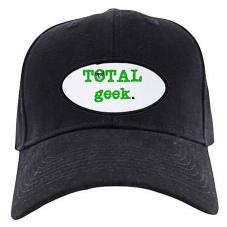 Total Geek Black Cap