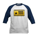 Warning Battleship Fan Tee