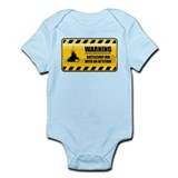 Warning Battleship Fan Onesie