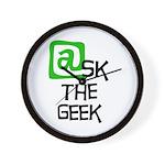 @sk the Geek Wall Clock