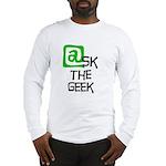 @sk the Geek Long Sleeve T-Shirt