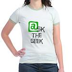 @sk the Geek Jr. Ringer T-Shirt