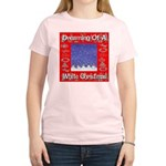 Dreaming Of A White Christmas Women's Light T-Shir