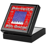 Dreaming Of A White Christmas Keepsake Box