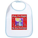 Pray For Peace The Whole Worl Bib