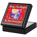 Pray For Peace The Whole Worl Keepsake Box