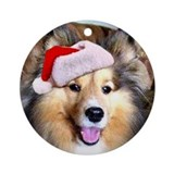 Cody Ornament (Round)