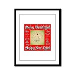 Glorious Christmas Tree Framed Panel Print