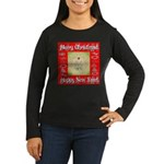 Glorious Christmas Tree Women's Long Sleeve Dark T