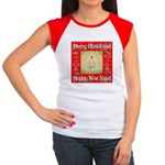 Glorious Christmas Tree Women's Cap Sleeve T-Shirt