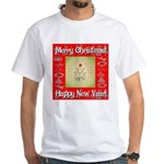 Glorious Christmas Tree White T-Shirt
