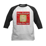Glorious Christmas Tree Kids Baseball Jersey