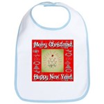 Glorious Christmas Tree Bib