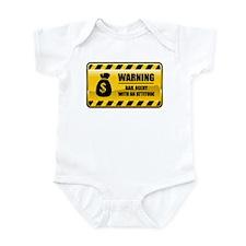 Warning Bail Agent Infant Bodysuit