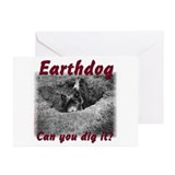 Earthdog Greeting Cards (Pk of 10)