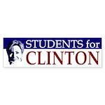 Students for Clinton (bumper sticker)