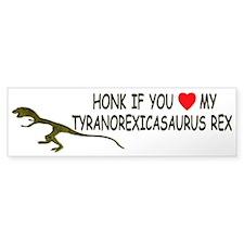 Very funny Anorexic Bumper Bumper Sticker