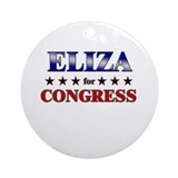 ELIZA for congress Ornament (Round)