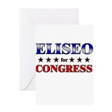 ELISEO for congress Greeting Card