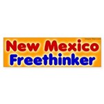 New Mexico Freethinker Bumper Sticker