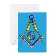 The Blue Lodge Greeting Card