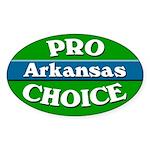 Pro-Choice Arkansas Bumper Sticker