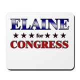 ELAINE for congress Mousepad