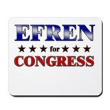 EFREN for congress Mousepad