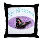 High Fashion Throw Pillow