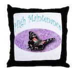 High Fashion Throw Pillow