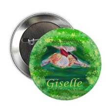 "Unique Giselle 2.25"" Button (10 pack)"