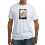 Eagle Portrait Fitted T-Shirt