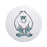 Disgruntled Yeti Keepsake (Round)