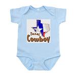 Texas Cowboy Infant Creeper