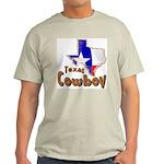 Texas Cowboy Ash Grey T-Shirt