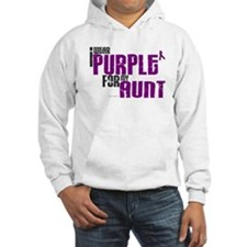 I Wear Purple For My Aunt 6 (PC) Hoodie
