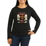 Diesel Pit Bull Stout Women's Long Sleeve Dark T-S