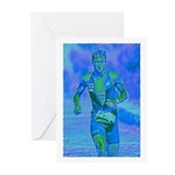 LOOKING STRONG PAINTING Greeting Cards (Pk of 10)