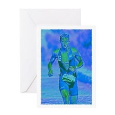 LOOKING STRONG PAINTING Greeting Card