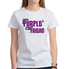 I Wear Purple For My Friend 6 (PC) Tee