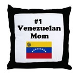 #1 Venezuelan Mom Mother Throw Pillow