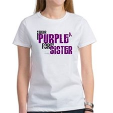 I Wear Purple For My Sister 6 (PC) Tee