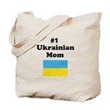 #1 Ukrainian Mom Tote Bag