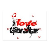 i love Gibraltar Postcards (Package of 8)