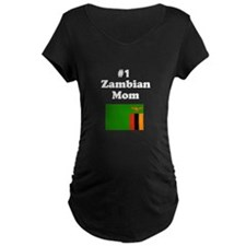 #1 Zambian Mom Mother T-Shirt