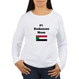 #1 Sudanese Mom T-Shirt