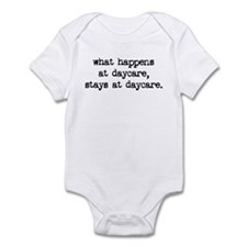 what happens at daycare Infant Bodysuit