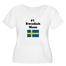 #1 Swedish Mom T-Shirt