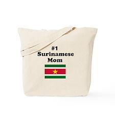 #1 Surinamese Mom Tote Bag