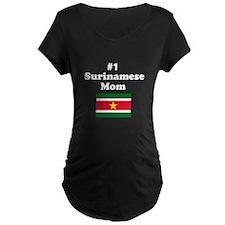 #1 Surinamese Mom T-Shirt